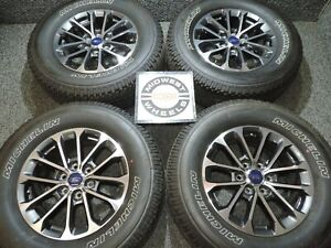 2020 Ford F150 18 Fx4 Wheels Tires Michelin P275 65r18 Factory Oe New Take Offs