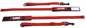 Off Road Racing Arm Restraints Harness Sfi 3 3 Certified Arm Contain Red Black