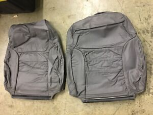 Used 1989 1993 Ford Mustang Grey Vinyl Front Seats Top Upholstery 2