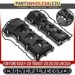 Front Left Right Engine Valve Covers For Ford F 150 Explorer Lincoln W Gasket