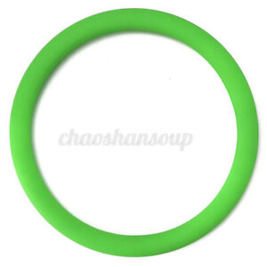 2 0mm Silicone Car Steering Wheel Cover Size 14 16 Pu Auto Car Universal Green