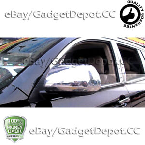 Chrome Mirror Covers Pair For Toyota Highlander 2008 2009 2010 2011 2012 2013