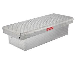 Craftsman 60 in X 12 in X 16 in Brite Aluminum Top Mount Truck Tool Box