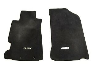 2002 2006 Acura Rsx Type s Front Floor Mats Black Carpet Oem