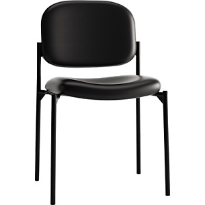Hon Bonded Leather Stacking Guest Chair