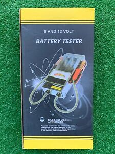 6 And 12 Volt Battery Load Tester