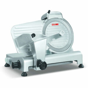Primo Ps10 Food Meat Slicer Machine 10 In Blade Restaurant Commercial Appliance
