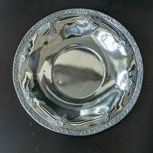 Vintage Sterling Silver Centerpiece Bowl Meadow Rose By Watson 10