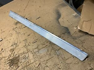 1966 Chevrolet Impala 2 D Long Stainless Dash Trim Right Hand Side