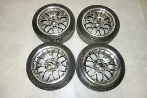 Jdm Bbs Rs Rs937 Rims Wheels 17x7 5 5x100 35 Offset Forged Japan Subaru