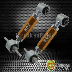 Adjustable Rear Camber Kit Honda Civic Ef Eg Ek Crx Del Sol Integra Da Dc2 Gold