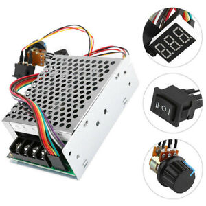 10 55v 100a 5000w Reversible Dc Motor Speed Controller Pwm Control Soft Start