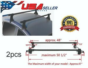 Cross Bars Roof Rack Without Rain Gutter Water Usa Seller