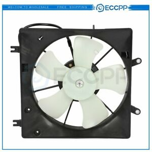 Electric Radiator Cooling Fan Assembly For 2003 2004 2005 2006 2007 Honda Accord