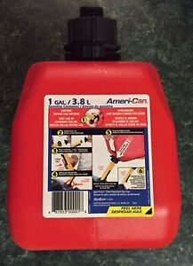Scepter Ameri can Gasoline Fuel Jerry Can Jug 1 Gallon Container Spill Proof