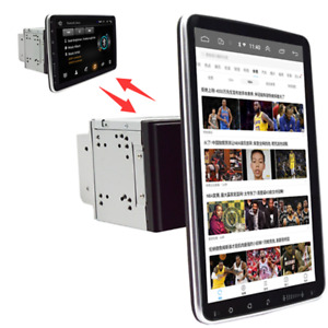 Double 2din Rotatable 10 1 Android 9 1 Touch Screen Car Stereo Radio Gps Wifi