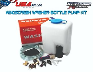 Universal Windshield Washer Pump Reservoir Kit Fluid Usa Seller Igtunningmiami