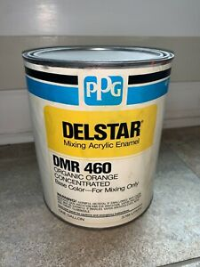Ppg Refinish Delstar 1 Gallon Organic Orange Paint Tint Toner Dmr460