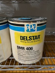 Ppg Refinish Delstar 1 Gallon Organic Medium Cadmium Paint Tint Toner Dmr406