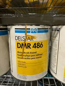 Ppg Refinish Delstar 1 Gallon Yellow Oxide Paint Tint Toner Dmr486