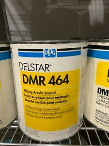 Ppg Refinish Delstar 1 Gallon Red Moly Orange Paint Tint Toner Dmr464