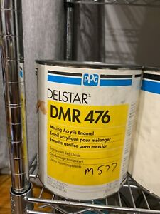Ppg Refinish Delstar 1 Gallon Transparent Red Oxide Paint Tint Toner Dmr476