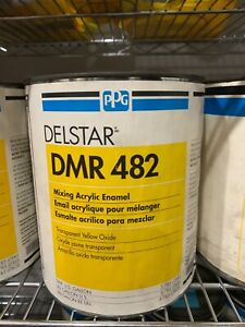 Ppg Refinish Delstar 1 Gallon Transparent Yellow Oxide Paint Tint Toner Dmr482