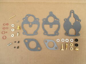 Carburetor Rebuild Kit For Ih International 100 130 140 240 330 340 404 424