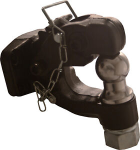 2 5 16 Combination Towing Pintle Hook Ball Hitch Lock