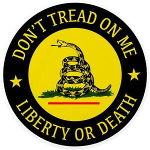 Don t Tread On Me Decal Sticker Laptop Car Window Stickers Gadsden Flag 2nd Guns