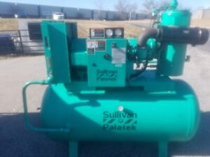 Used 40 hp Palatek Ds 40 Open Open Design 208 230 460v Rotary Air Compressor