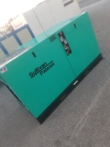 Used 30 hp Palatek Dq 30 Open Open Design 208 230 460v Rotary Air Compressor