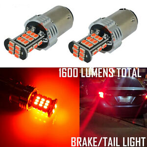 Bright Red 30 led 1157 Turn Signal Brake stop Tail Light Bulb Lamp Replacement
