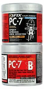 Pc Products Pc 7 Epoxy Adhesive Paste Two part Heavy Duty 1 2lb In Two Cans