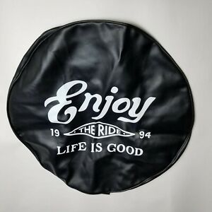 Life Is Good Weatherproof Tire Cover Jeep Black Nwt