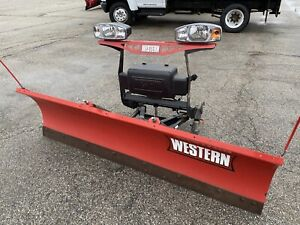 Western 7 6 Hts Ultra Mount Snow Plow Complete For Jeep Jk 2007 2017