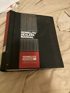 Homelite Construction Equipment Parts Manual List Generator Pumps Cuts More