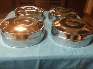 Ford 16 In Pickup Truck Dog Dish Center Caps Hubcaps Fomoco 3 4 Ton Nos