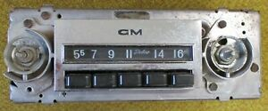 Gm Chevy Truck Delco Am Radio 1967 1972 Pickups And Vans Gmc Chevrolet