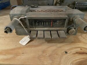 1965 Mercury Comet Cyclone Am Radio Dash Push Button