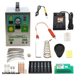 709ad battery Pulse Spot Welder 220v For Battery Pack Welding 70b Welding Pen