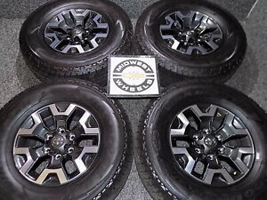 2020 Toyota Tacoma Trd Off Road 16 Wheels Tires Goodyear At P265 70r16 Factory