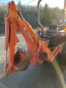 Kubota Bh77 Backhoe Attachment With L3200 Subframe Mount