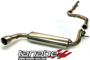 Tanabe Medalion Touring Cat Back Exhaust System For 88 91 Honda Civic Hatchback