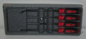 new Snap on Seal Removal Set Sgsr104ar red Soft Handles Brand New Sealed