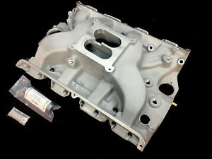 Ford Fe 4 Barrel Dual Plane 427 Medium Rise Intake Manifold with Heat Riser