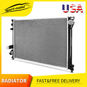 Aluminum Radiator For 2009 2010 2011 2018 Chrysler 300 Dodge Charger Challenger