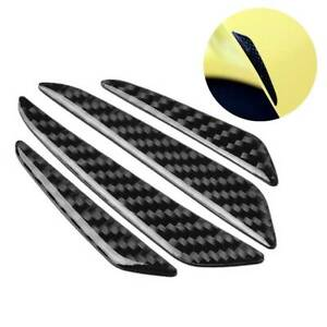 4x Car Door Edge Guard Bumper Protector Anti scratch Moulding Strip Accessories