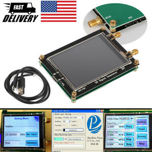 Rf Signal Generator 35 4400m Adf4351 Frequency Generator Touch Screen Pll Sweep