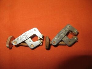 2 Nice Kant Twist 3 4 C Clamps Round Handle Welding Machinist Tool 1684
